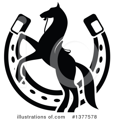 Horseshoes Clipart #1377578 by Vector Tradition SM
