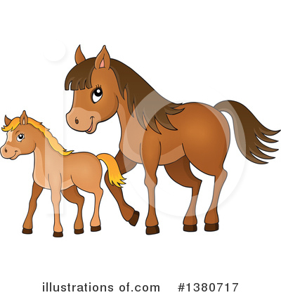 Horse Clipart #1380717 by visekart