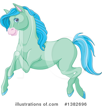 Horse Clipart #1382696 by Pushkin