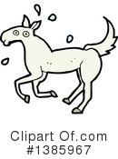 Horse Clipart #1385967 by lineartestpilot
