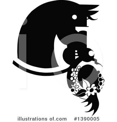 Horse Clipart #1390005 by Prawny Vintage