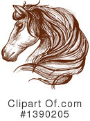 Royalty-Free (RF) Horse Clipart Illustration #1390205