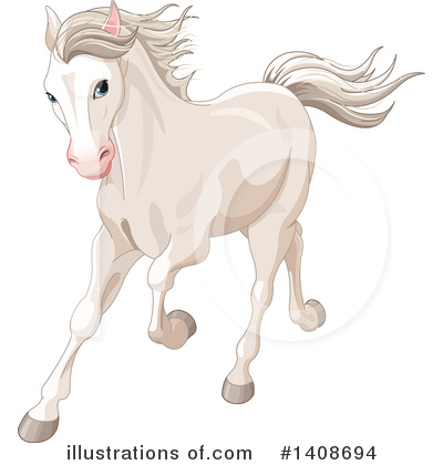 Horse Clipart #1408694 by Pushkin