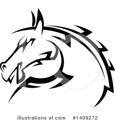 Equine Clipart #1409272 by Vector Tradition SM
