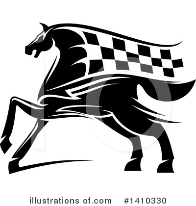 Racing Clipart #1410330 by Vector Tradition SM