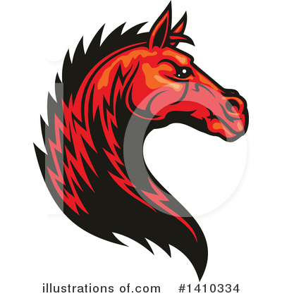 Equine Clipart #1410334 by Vector Tradition SM