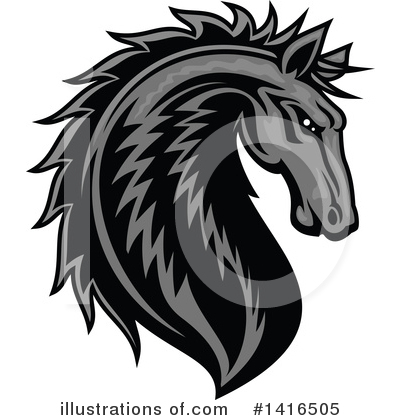 Horse Clipart #1416505 by Vector Tradition SM