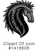 Royalty-Free (RF) Horse Clipart Illustration #1416505