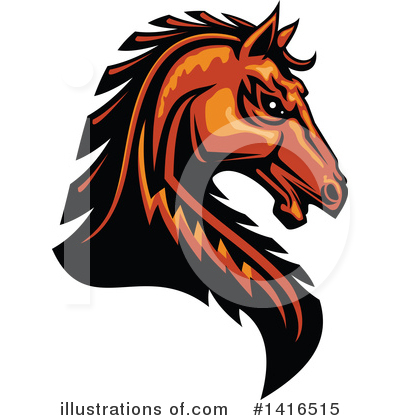 Horse Clipart #1416515 by Vector Tradition SM