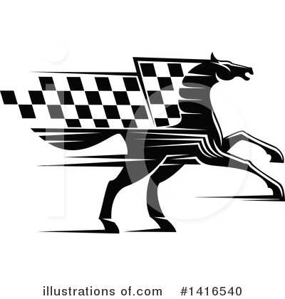 Racing Clipart #1416540 by Vector Tradition SM