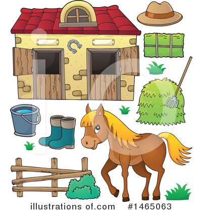 Farm Clipart #1465063 by visekart