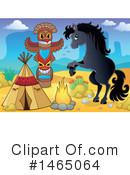 Royalty-Free (RF) Horse Clipart Illustration #1465064