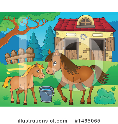 Farm Clipart #1465065 by visekart