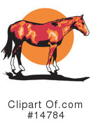 Horse Clipart #14784 by Andy Nortnik