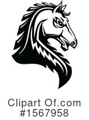 Horse Clipart #1567958 by Vector Tradition SM