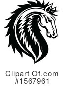 Horse Clipart #1567961 by Vector Tradition SM