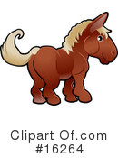 Horse Clipart #16264 by AtStockIllustration