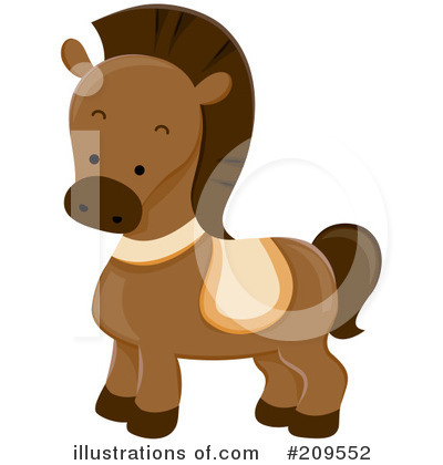 Horse Clipart #209552 by BNP Design Studio