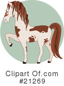 Horse Clipart #21269 by Maria Bell