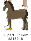 Royalty-Free (RF) Horse Clipart Illustration #213918