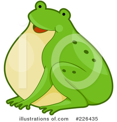 Frog Clipart #226435 by BNP Design Studio