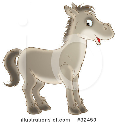 Horse Clipart #32450 by Alex Bannykh