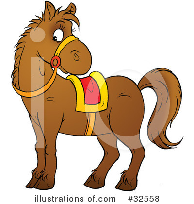 Horse Clipart #32558 by Alex Bannykh