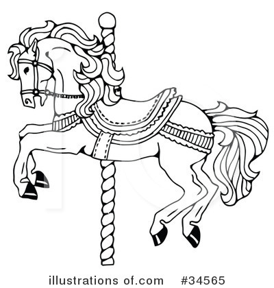Carousel Clipart #34565 by C Charley-Franzwa