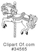 Horse Clipart #34565