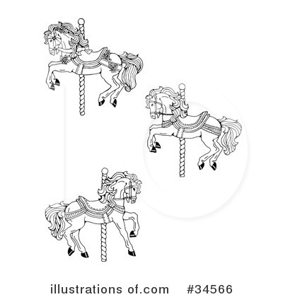 Carousel Clipart #34566 by C Charley-Franzwa