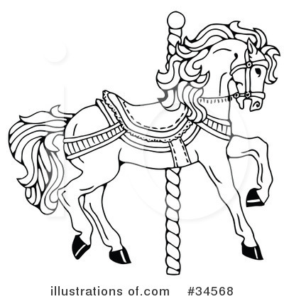 Carousel Clipart #34568 by C Charley-Franzwa