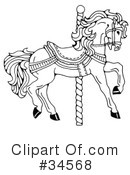 Horse Clipart #34568