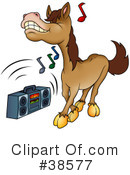 Horse Clipart #38577 by dero