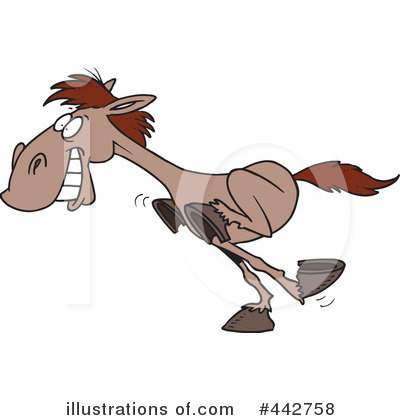 Horse Clipart #442758 by toonaday