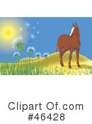 Royalty-Free (RF) Horse Clipart Illustration #46428
