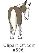 Royalty-Free (RF) Horse Clipart Illustration #5961