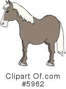 Royalty-Free (RF) Horse Clipart Illustration #5962
