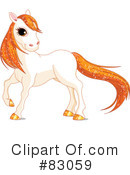 Horse Clipart #83059 by Pushkin