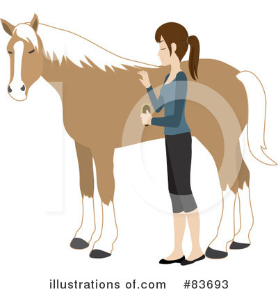 Royalty-Free (RF) Horse Clipart Illustration by Rosie Piter - Stock Sample #83693