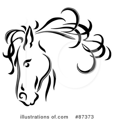 Equine Clipart #87373 by C Charley-Franzwa
