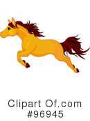 Horse Clipart #96945 by Pushkin