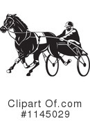 Horse Race Clipart #1145029 by patrimonio