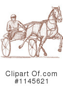 Royalty-Free (RF) horse race Clipart Illustration #1145621