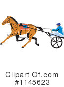 Royalty-Free (RF) horse race Clipart Illustration #1145623