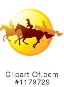 Royalty-Free (RF) Horseback Riding Clipart Illustration #1179729