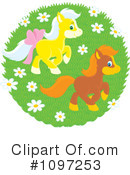 Horses Clipart #1097253 by Alex Bannykh