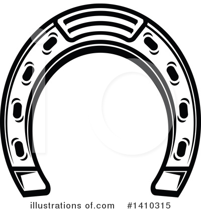 Horseshoe Clipart #1410315 by Vector Tradition SM