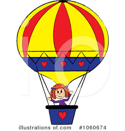 Balloons Clipart #1060674 by Pams Clipart