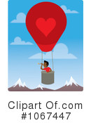 Royalty-Free (RF) hot air balloon Clipart Illustration #1067447