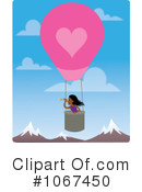 Royalty-Free (RF) Hot Air Balloon Clipart Illustration #1067450